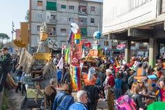 carnevale 35° um Scampia - uma Nápoles Itália Imagem de Stock Royalty Free