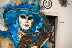 Carnevale 2009 di Venezia Immagini Stock Libere da Diritti