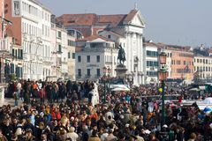Carnevale 2009 di Venezia Fotografia Stock
