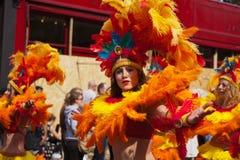 Carnevale 2011 del Notting Hill Immagini Stock Libere da Diritti