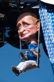 carnevale 2011 di viareggio arkivbilder