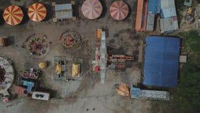 Carnevale abbandonato Fotografia Stock