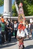 Carnevale annuale della primavera a Varna, Bulgaria Immagini Stock