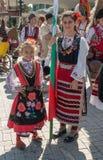 Carnevale annuale della primavera a Varna, Bulgaria Fotografie Stock