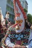 Carnevale annuale della primavera a Varna, Bulgaria Fotografie Stock Libere da Diritti