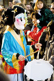 Carnevale a Basilea Fotografia Stock
