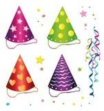 Carnevale, cappelli Illustrazione di Stock