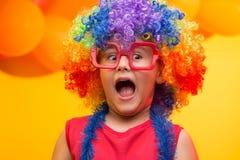 Carnevale del bambino - Brasile immagini stock libere da diritti