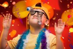 Carnevale del bambino - Brasile fotografia stock