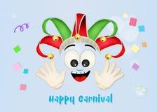 Carnevale del burlone Fotografia Stock