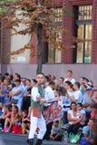 Carnevale del fiore di Debrecen immagine stock libera da diritti