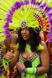 Carnevale del Notting Hill Fotografia Stock Libera da Diritti