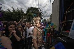 Carnevale del Notting Hill a Londra ad ovest, Regno Unito Immagini Stock Libere da Diritti