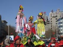 Carnevale del nuovo anno del paese Fotografia Stock Libera da Diritti