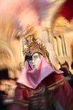 Carnevale del ritratto della mascherina di Venezia Italia Fotografia Stock Libera da Diritti