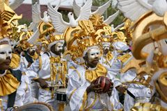 Carnevale dell'annuale della Guiana francese Fotografia Stock Libera da Diritti