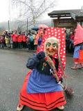Carnevale della foresta nera, Germania immagine stock libera da diritti