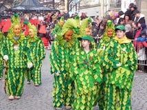 Carnevale della foresta nera, Germania immagini stock