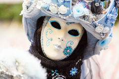 Carnevale delle maschere di Venezia Fotografia Stock