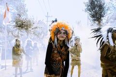 Carnevale di Astec Immagine Stock Libera da Diritti