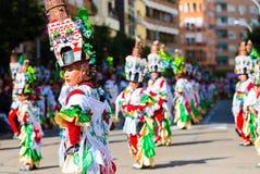 Carnevale di Badajoz Immagine Stock Libera da Diritti
