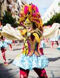 Carnevale di Badajoz Fotografia Stock Libera da Diritti