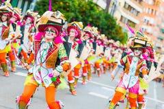 Carnevale di Badajoz Immagini Stock Libere da Diritti