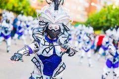 Carnevale di Badajoz Fotografia Stock