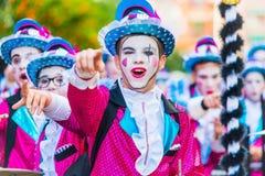 Carnevale di Badajoz Fotografie Stock