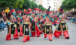 Carnevale di Badajoz 2016 Immagine Stock Libera da Diritti