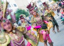 Carnevale di Badajoz 2016 Fotografia Stock