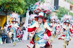 Carnevale di Badajoz 2016 Immagini Stock