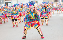 Carnevale di Badajoz 2016 Fotografia Stock Libera da Diritti