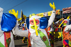 Carnevale di Barranquilla, in Colombia immagini stock