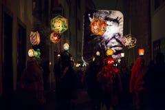 Carnevale 2015 52 di Basilea Immagine Stock