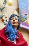 Carnevale di Cadice Fotografia Stock Libera da Diritti