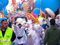 Carnevale di Cento i ragazzi del Guercino Fotografia Stock Libera da Diritti