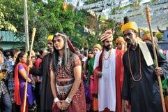 Carnevale 2015 di Cochin Fotografie Stock Libere da Diritti