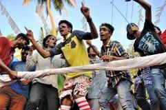 Carnevale 2015 di Cochin Fotografie Stock