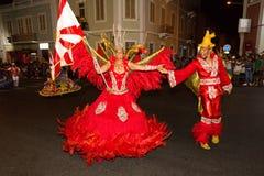 Carnevale di estate in Mindelo, Capo Verde Immagine Stock Libera da Diritti