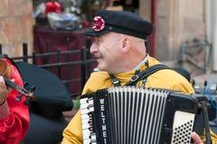 Carnevale di Gerusalemme, Israele - di Purim. Fotografie Stock