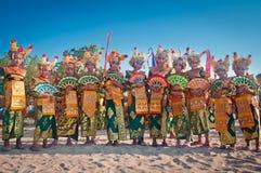 Carnevale di Kuta Fotografia Stock Libera da Diritti