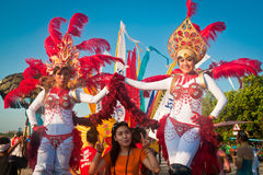 Carnevale di Kuta Fotografie Stock Libere da Diritti