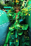 Carnevale di modo di Jember Fotografie Stock Libere da Diritti