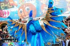 Carnevale di Nizza il 21 febbraio 2012, la Francia Immagini Stock
