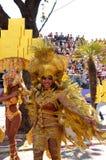 Carnevale di Nizza il 22 febbraio 2012, la Francia Immagini Stock Libere da Diritti