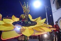 Carnevale 2017 di notte di Samarang Immagine Stock Libera da Diritti