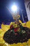 Carnevale 2017 di notte di Samarang Fotografie Stock Libere da Diritti