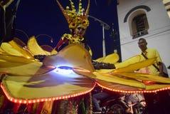 Carnevale 2017 di notte di Samarang Fotografie Stock