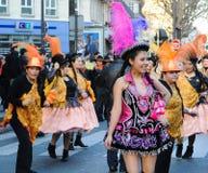 Carnevale di Parigi 2011 Immagine Stock Libera da Diritti